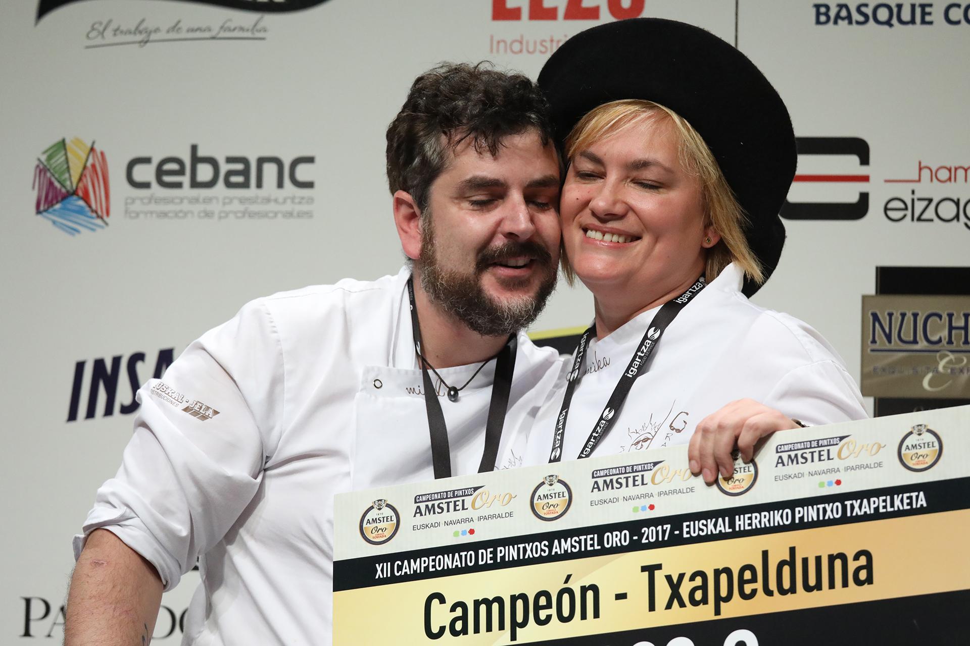 La gran alegría de un pintxo y una cocinera llamadas Mika: campeones de nuevo